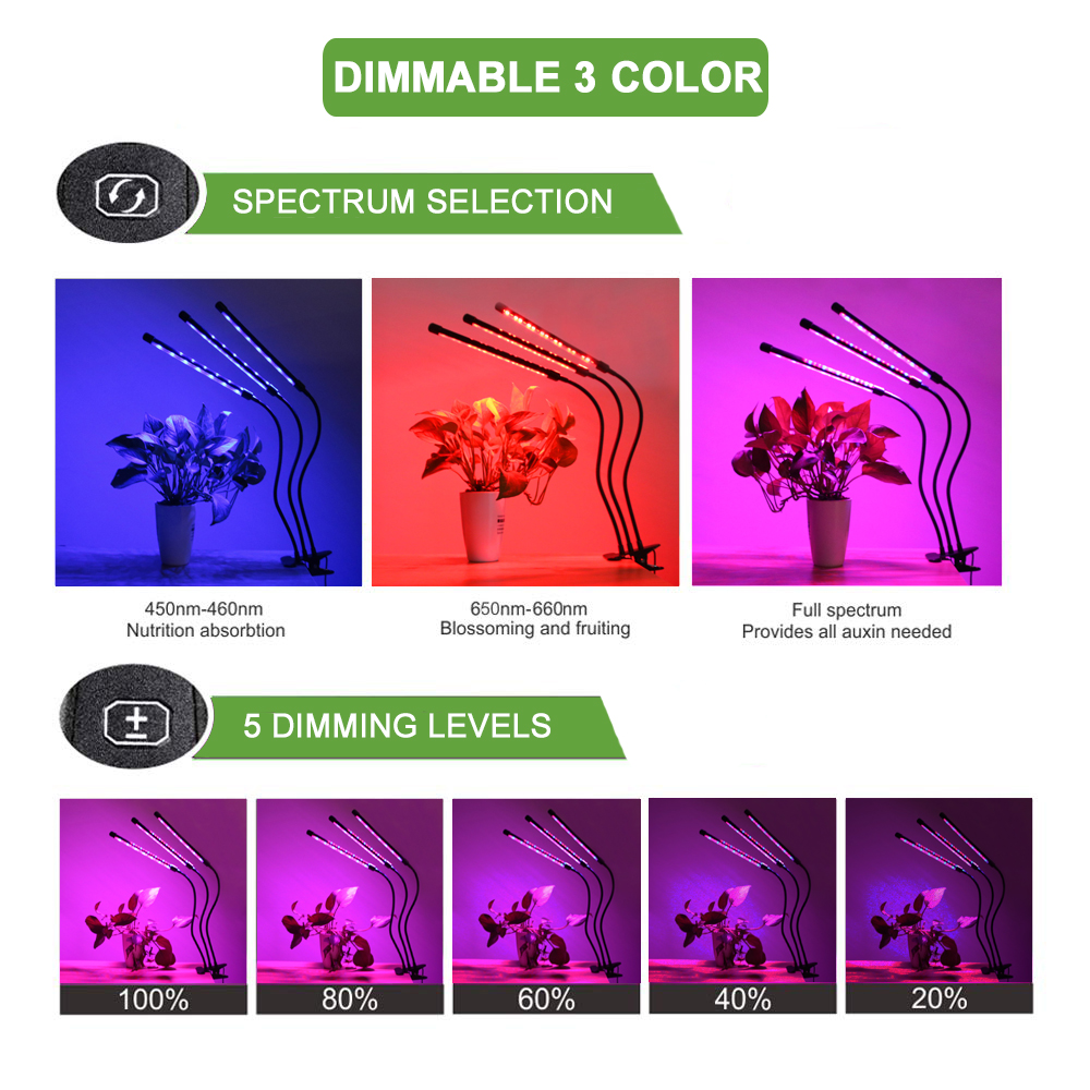 LED Grow Light 30W Phyto Lamp For Plant Flowers Seed Indoor Garden Tent Full Spectrum Fito Led Grow Strip Plants Fitolamp Lamps in LED Grow Lights from Lights Lighting