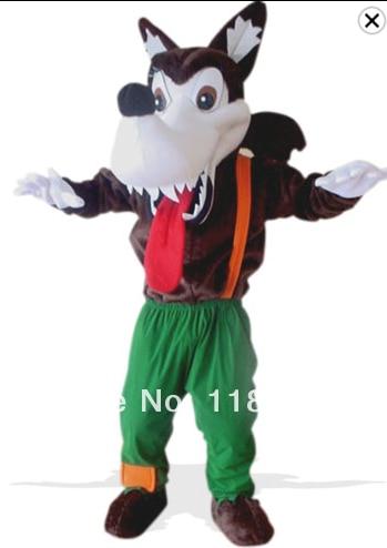 mascot Wild Wolf Mascot costume coyote custom fancy costume anime cosplay kits mascotte fancy dress carnival costume