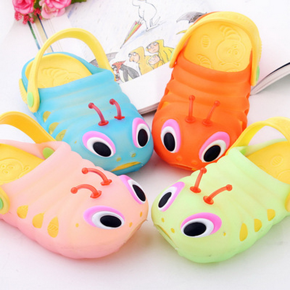 2017 Summer Very Cute font b Kid b font Garden Shoes Girls And Boys Mules And