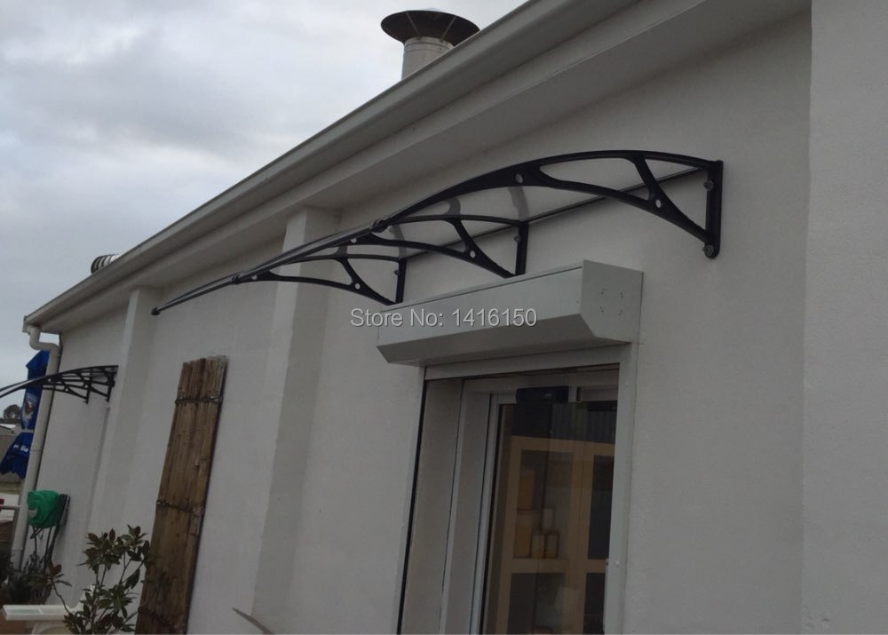 DS100200 A,100x200cm,polycarbonate door awnings,balcony ...