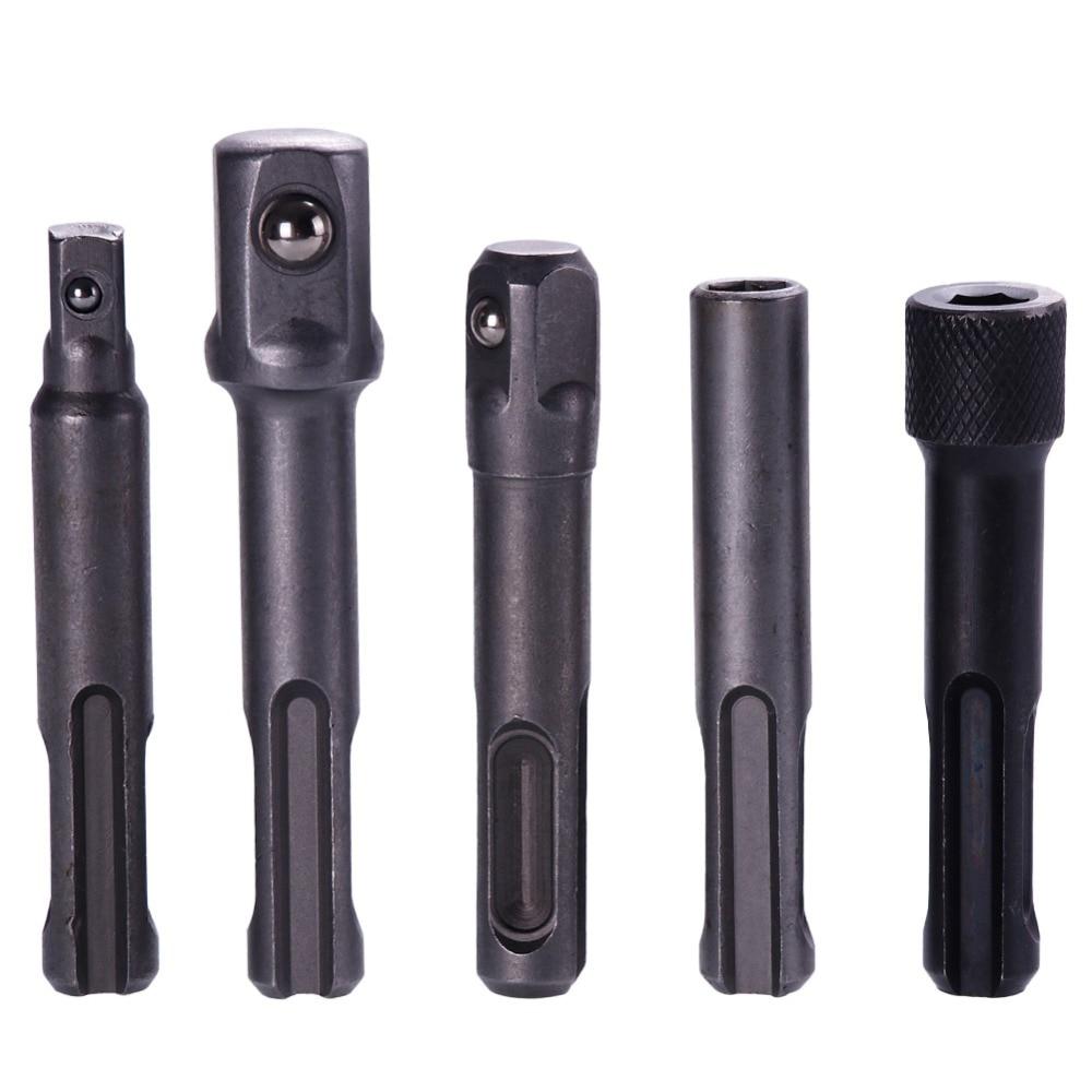 ANENG 3Pcs SDS Plus Socket Driver Drills Drill Bit 1/4