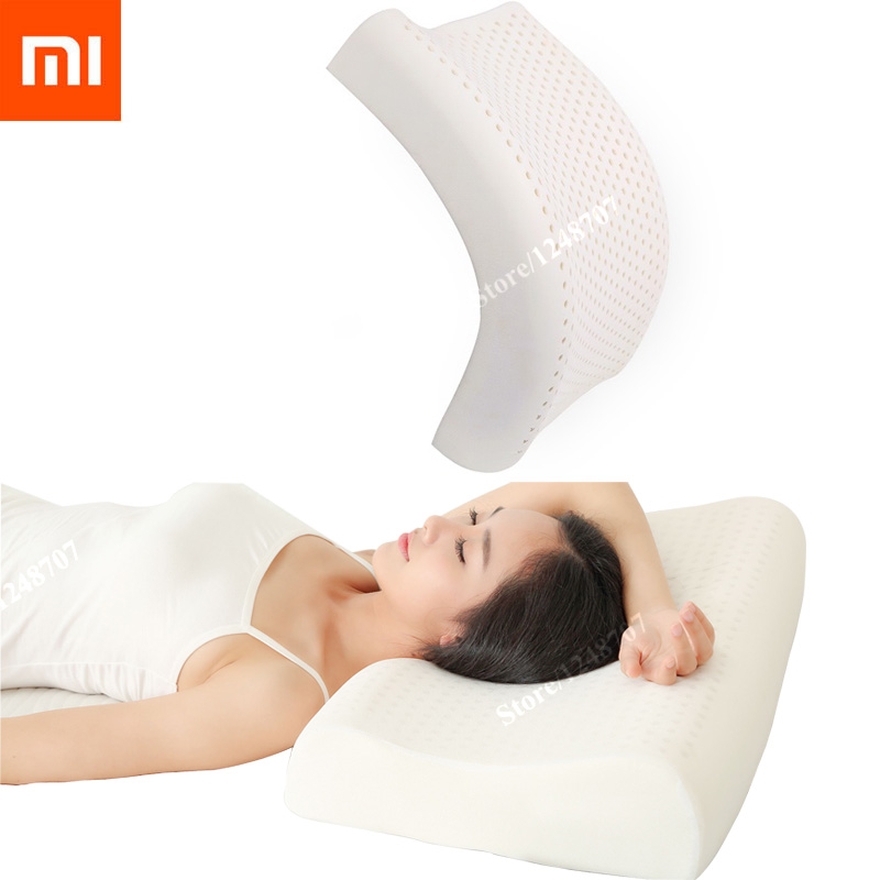 Original Xiaomi Pillow 8H Z2 Xiaomi Z2 Neck Pillow Natural Latex Best Mi Home Pillow Environmentally Safe Material Pillow Z2 Подушка