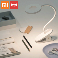 Xiaomi Yeelight 3900K LED lamp Flexible holder USB Rechargeable Clip Desk Eye Protection Touch Dimmer 3 Modes adjust