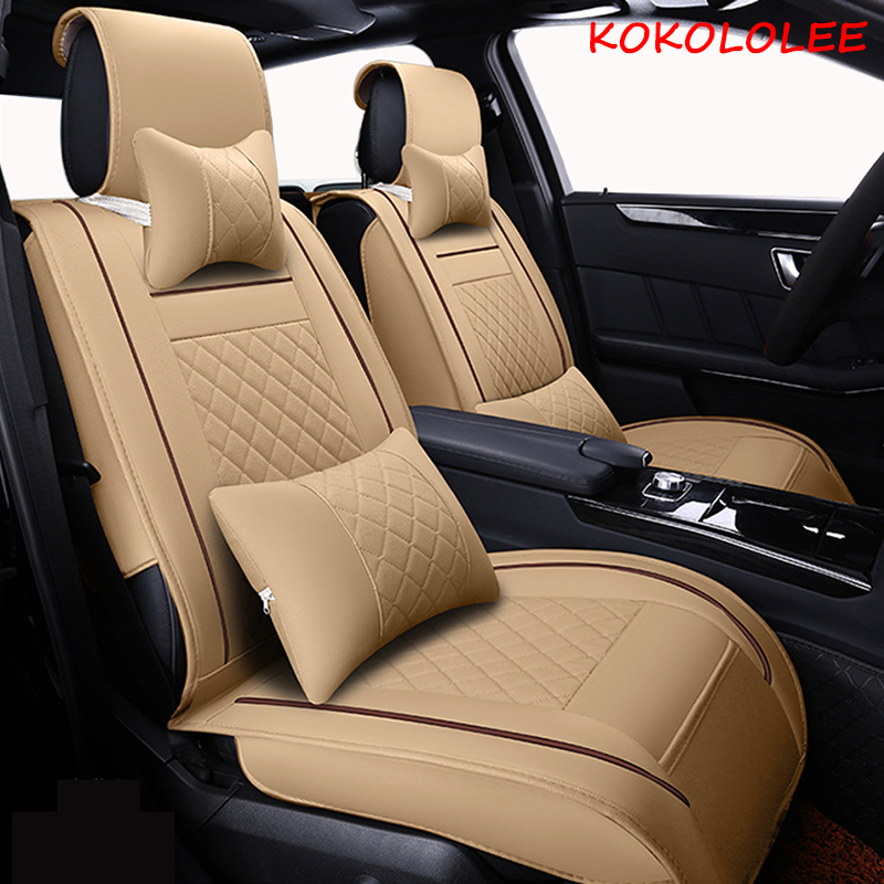[kokololee] car seat cover for volkswagen polo vw polo 6r 9n vw passat b5 passat b6 passat b7 b8 vw golf 5 golf 6 7 Car seats наклейки volkswagen vw polo