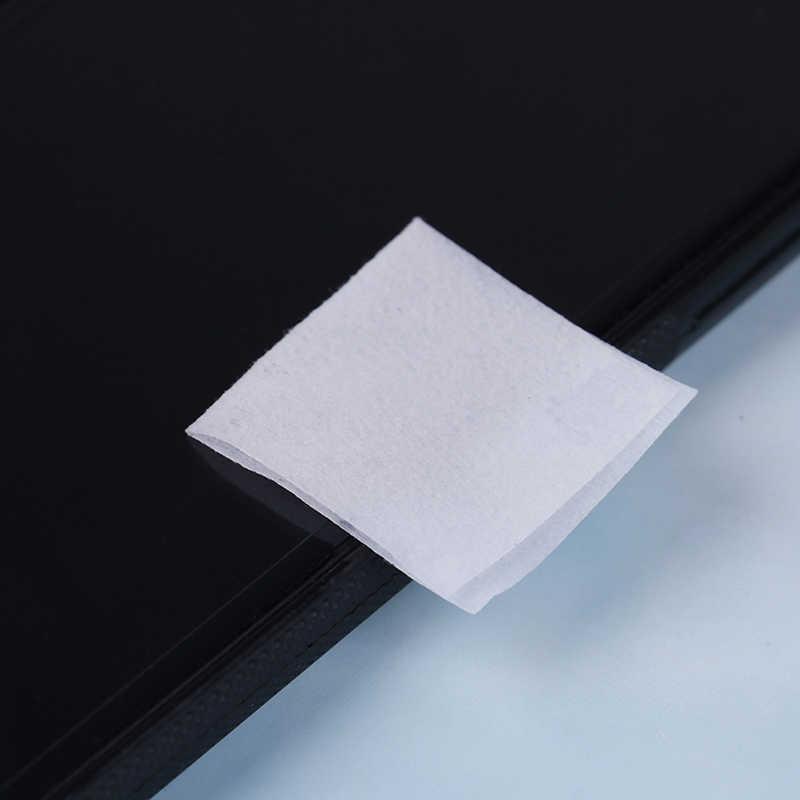 50 piezas Antiphlogosis Alcohol isopropílico muestra almohadillas pieza limpiar antiséptico para la limpieza de la piel cuidado de primeros auxilios