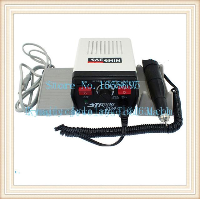 Suprimentos Dental FORTE 204 Mini Micromotor Polimento dental Máquina para jóias beleza unhas