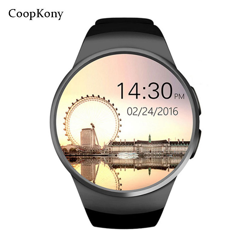 Cooopkony Smart Watch Phone Full Screen SIM TF Card Smartwatch Heart Rate Bluetooth Watches for apple IOS huawei Android Iphone