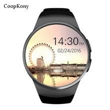 Cooopkony Inteligente Watch Phone Tela Cheia SIM TF Cartão huawei Smartwatch Bluetooth Freqüência Cardíaca Relógios para apple IOS Android Iphone