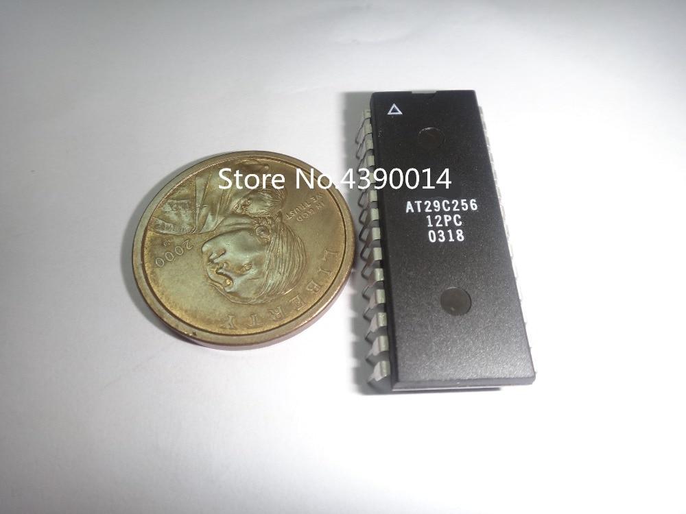 10 pcs/lot AT29C256 AT29C256-12PC DIP28