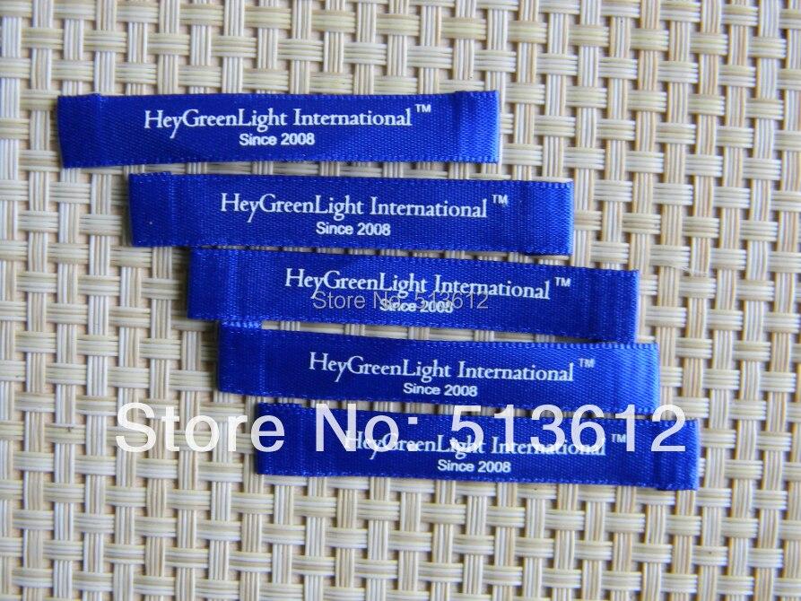 custom make slik screen printing label printed label label woven label garment label