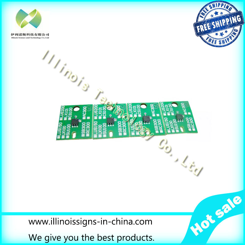 One-time Chip for Mimaki SB300 Cartridge 4 Colors CMYK printer parts
