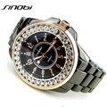 Que bling Strass Luxo SINOBI Presente Relógio de Quartzo Das Senhoras Vestido Das Mulheres Relógio feminino relógio de Pulso de aço de Prata de Ouro 2016 relojes mujer
