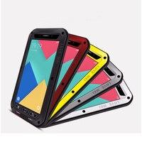 2018 A8 LOVE MEI Life Waterproof Metal Phone Case for SAMSUNG Galaxy S6 S7 Edge Plus Note 7 3 5 4 Edge A3 A5 2017 A7 A9 Alpha _