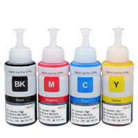 Kits de reenchimento tinta da impressora terno para epson 664 tinta l210 l800 l355 l200 l120 l132 l132 l100 l110 l312 l350 l362 l366 l550 l555