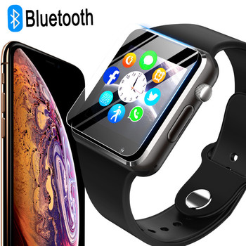 GETIHU A1 Smart Watch Smartwatch Bluetooth Wrist Sport Watch SIM Phone Camera WristWatch For Apple iPhone Android Samsung Men