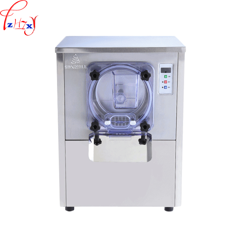 Commercial automatic hard ice cream maker 304 stainless steel hard ice cream machine snowball machine 220V 1400W 1pc 220V 1400W xiaguocai new arrival real leather casual shoes men boots with fur warm men winter shoes fashion lace up flats ankle boots h599