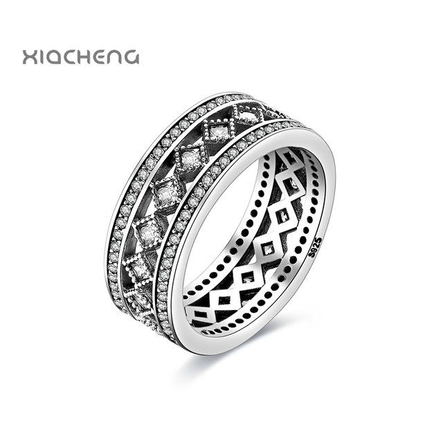 1Pcs 925 Sterling Silver Women Rings Jewelry Fashion Women Wedding Rings For Wom