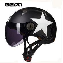 Beon  Protective Gear capacete motorcycles motorbike helmet approved summer half helmets casco motorcycle B102