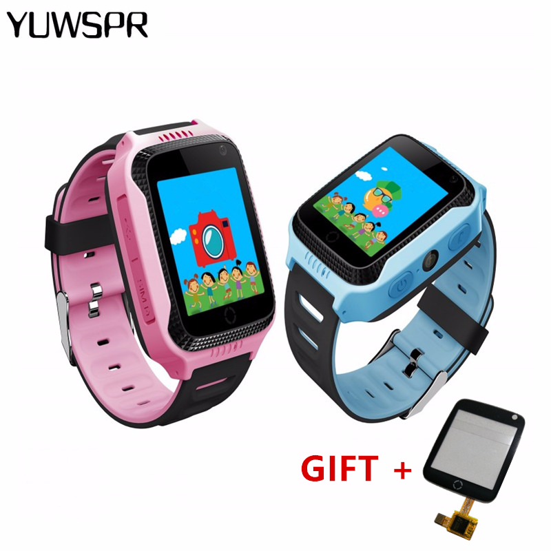Baby Watches Tracker Q528 Kids Child Q529 Y21-Flashlight Camera Location Touch-Screen