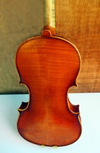 High Grade 4/4 European Wood Handmade Violin Poweful Sound Sent With Rosin Bow Case
