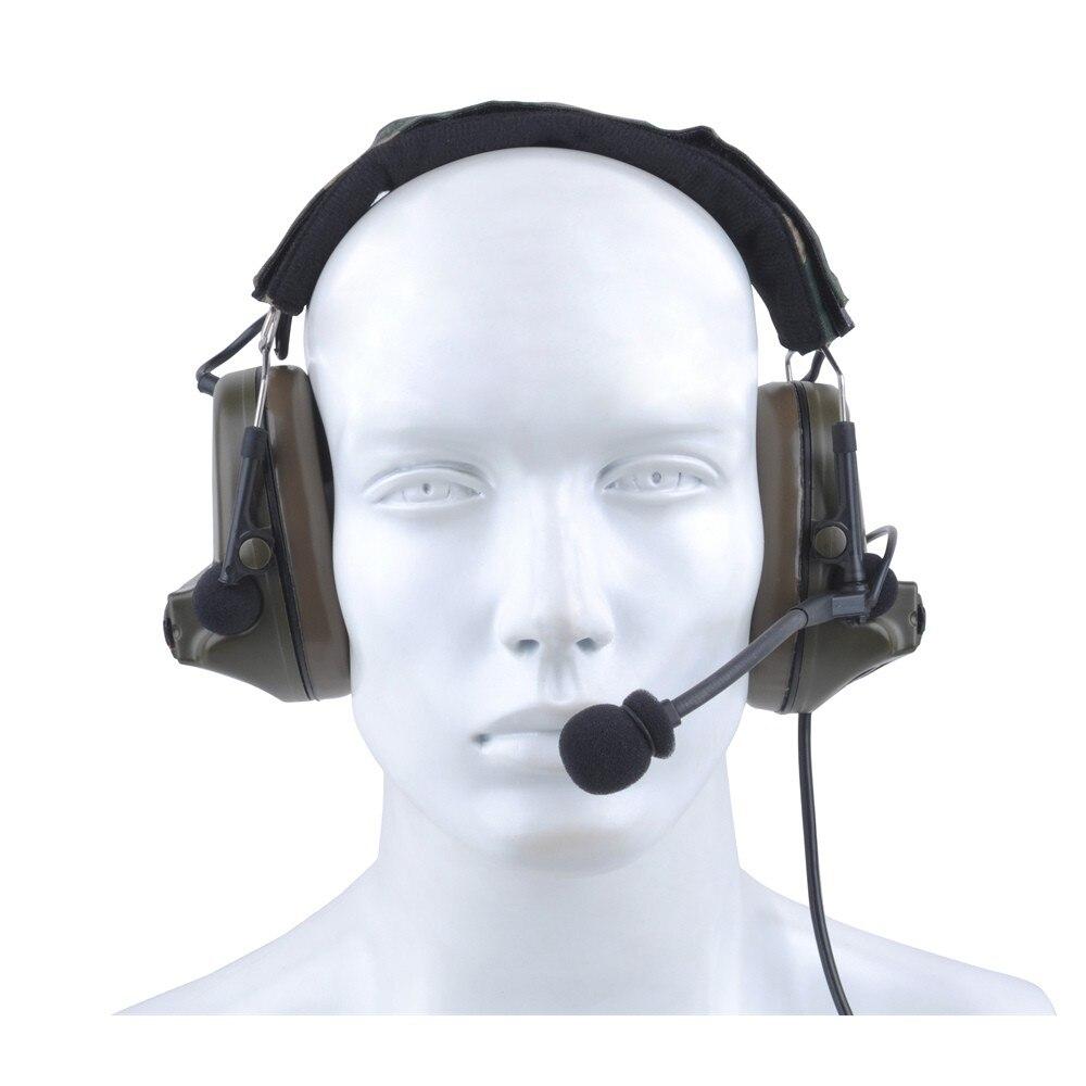 Z tático fone de ouvido comtac 2