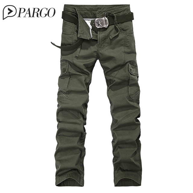 1111 brand clothing mens cargo pant multi-pocket casual millitary army green camouflage men trouser cotton pant(no belt 3105-1