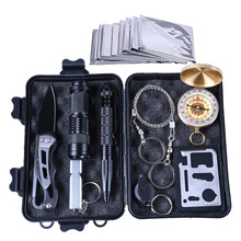 Outdoor Survival kit Set Camping Travel Multifunction First