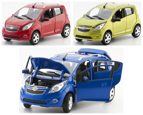 Nors Cot 124 Chevrolet Spark Classic Boutique Alloy Car Toys For