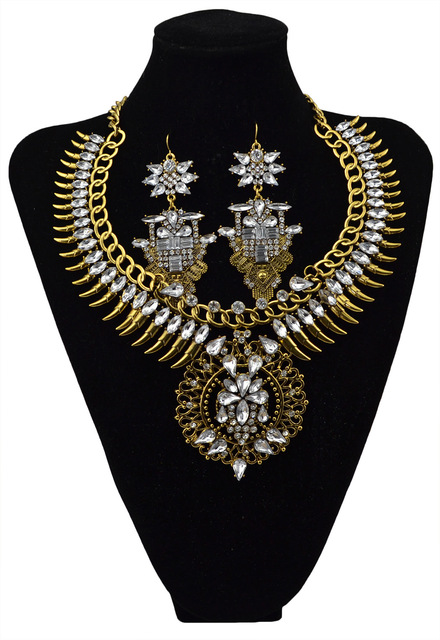 Necklace Set With Vintage...