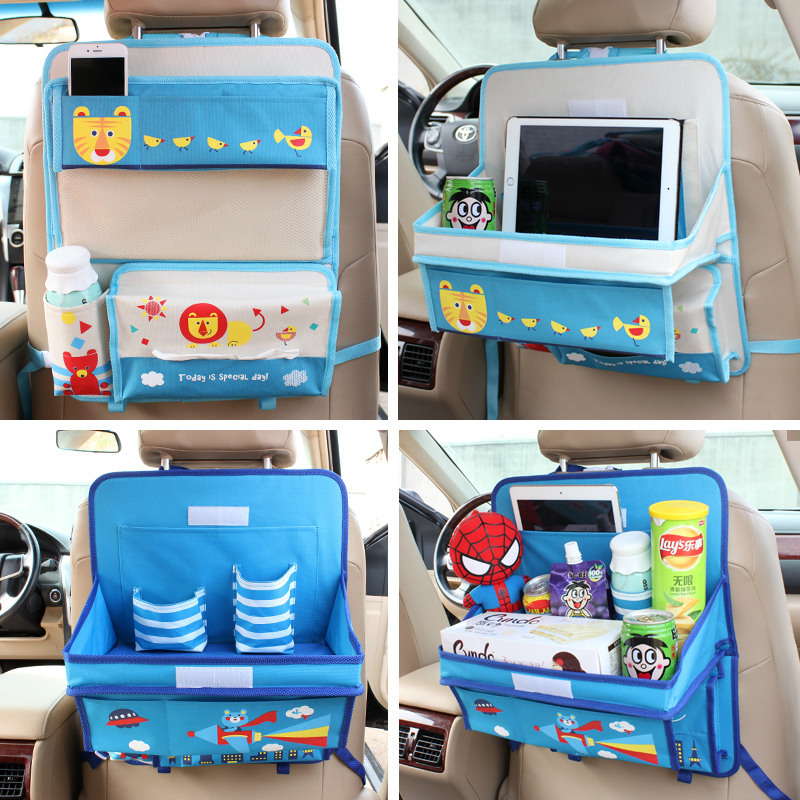 Baby Stroller Accessories Car Seat Storage Bag Hanging Bags Car Seat Back Bag Car Product Multifunction vehicle Storage Box car seat storage auto garbage boxes accessories