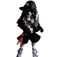 6 bjd кукла хип хоп девушка GemOfDoll