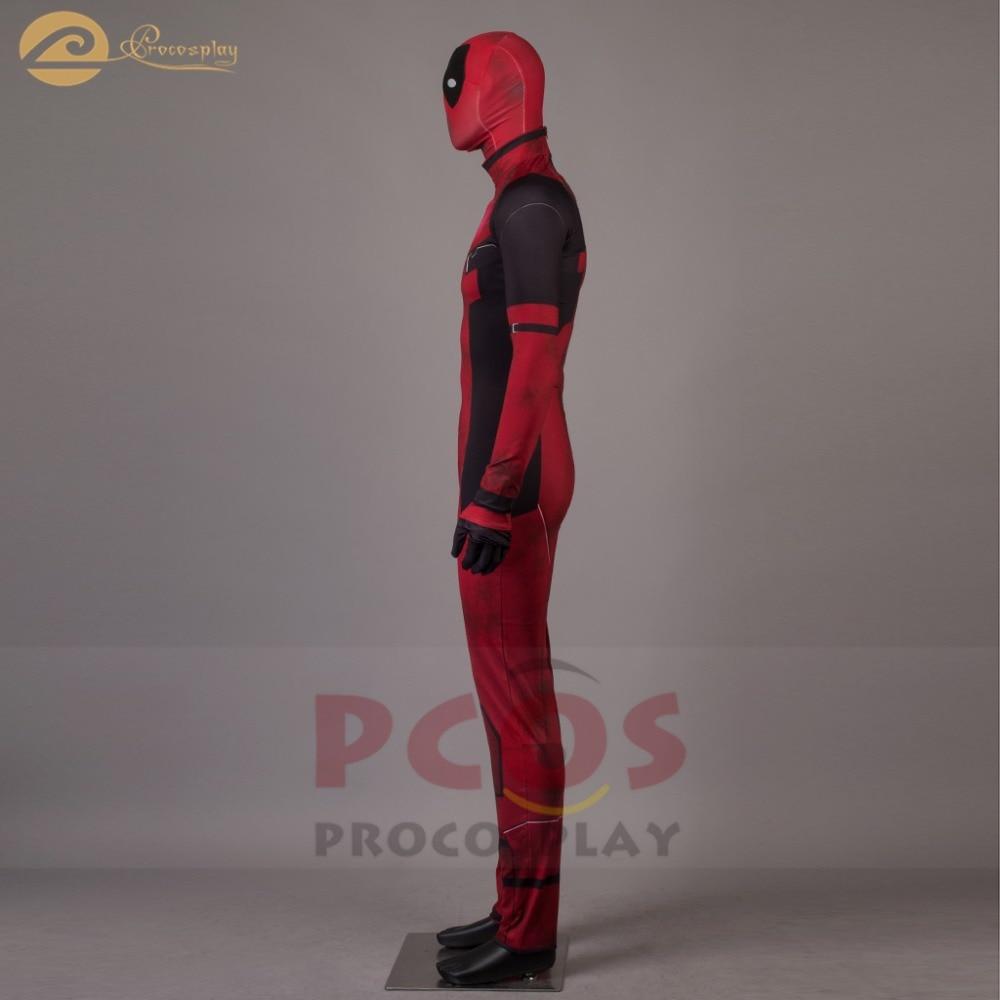 Վաճառքի գին !! Deadpool Wade Wilson Cosplay Costume zentai - Կարնավալային հագուստները - Լուսանկար 2