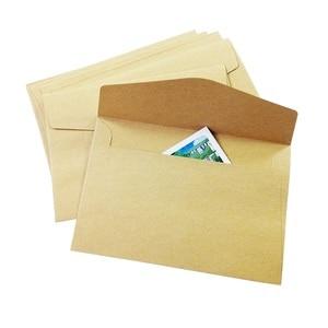 Image 5 - 100 PCS/lot nouveau mignon Vintage Kraft papier enveloppe 160*110mm mariage cadeau enveloppes fenêtre carte enveloppe