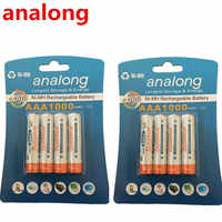 100% genuine authentic card installed special times analong AAA NiMH rechargeable battery 1000mAh