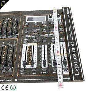 Image 4 - 24 ערוצים DMX 512 עמעום קונסולת אינטליגנטי דימר בקר שולחן עם LED תאורה למופע סביר משלוח חינם