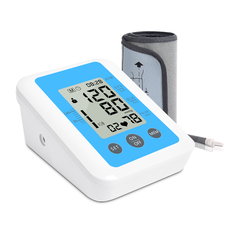 Home Health Care 1pcs Digital Lcd Upper Arm Blood Pressure Monitor Heart Beat Meter Machine Tonometer for Measuring Automatic цена