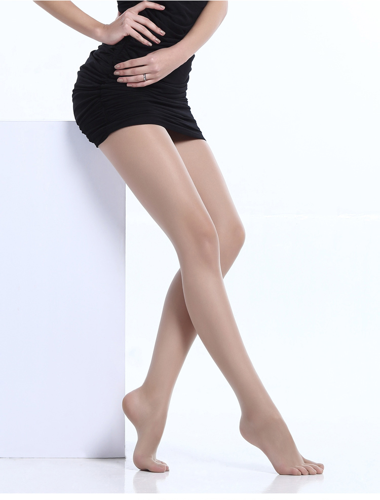 New Arrival 2018 Second Generative Women Ultra_Thin 15D Full Seamless Five Fingers Velvet Tight Ladies Transparent Pantyhose in Tights from Underwear Sleepwears