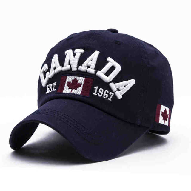 VORON 2017 Cotton Gorras Canada Baseball Cap Flag Of Canada Hat Snapback  Adjuatable Mens Baseball Caps fbec27b7e6cb