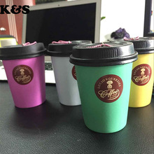 Lucio 8Pcs/Lot Original Package Rare Coffee Cup Squishy Wholesale Cute Jumbo Squishy Cell Phone Strap Charm Kawaii Drink Toy 310