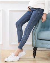 Maternity Jeans Women Trousers Pregnancy Clothing Pants Plus Size Elastic Waist Cotton