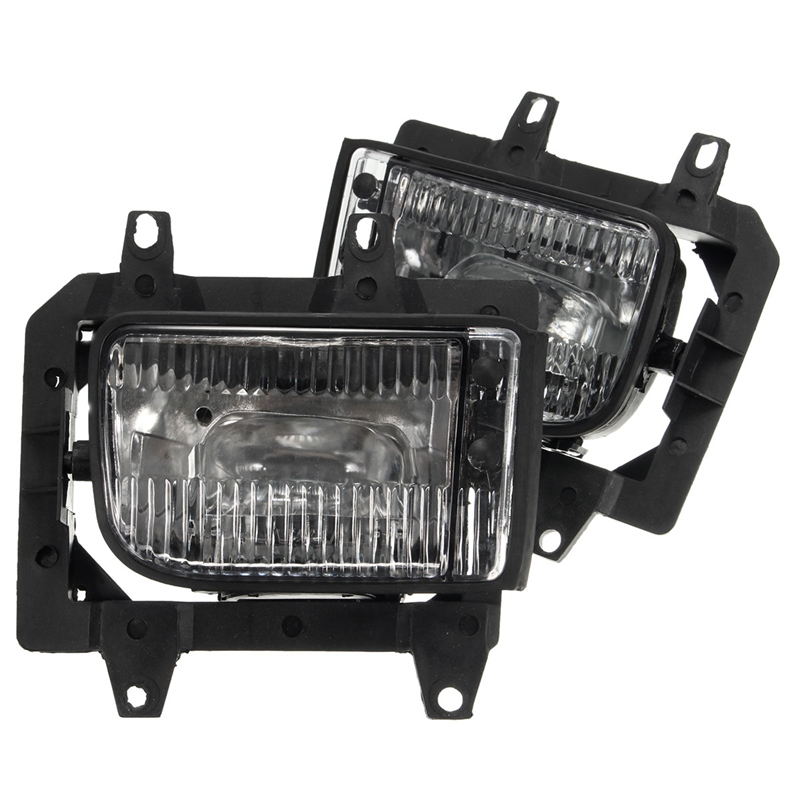 2Pcs Bumper Front Crystal Clear Fog Light Lamp Case Cover Daytime Running Light Lamp For <font><b>BMW</b></font> <font><b>E30</b></font> <font><b>318i</b></font> 318is 325i 325is image