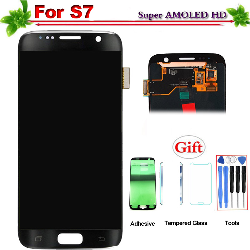 100% Tested Super Amoled for Samsung Galaxy S7 LCD Display Touch Screen Digitizer Assembly Replacement for Galaxy S7 G930 G930F100% Tested Super Amoled for Samsung Galaxy S7 LCD Display Touch Screen Digitizer Assembly Replacement for Galaxy S7 G930 G930F