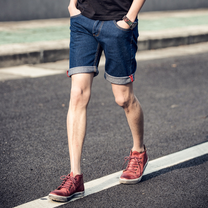 how to make jean shorts men