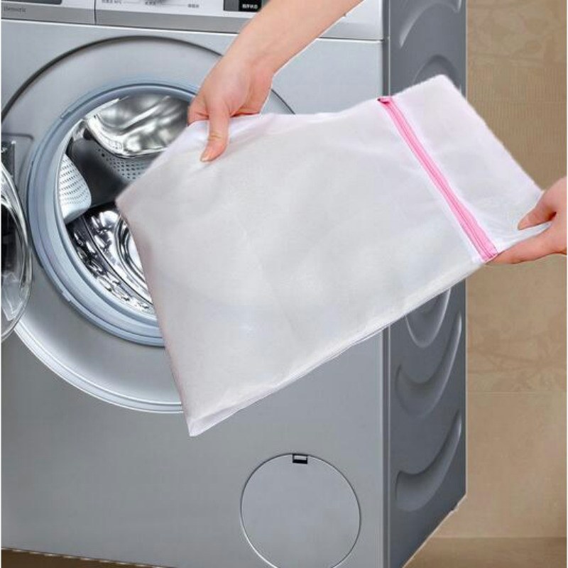 Mesh Laundry Bag Basket Bra Underwear Lingerie Clothes Wash Folding Laundry Hamper Household Cleaning Tool Washing Protection