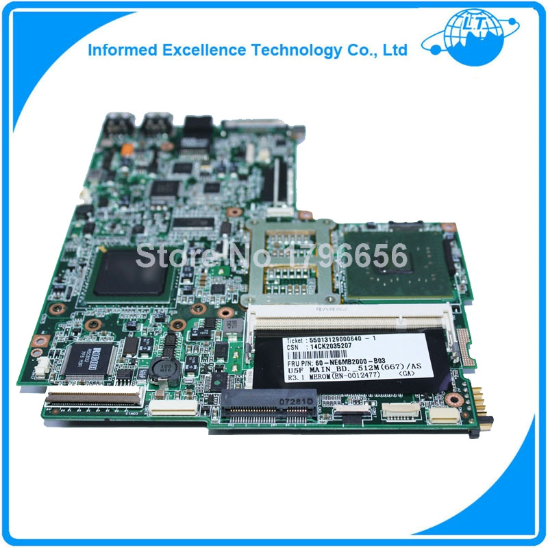 Free shipping for Asus U5F Laptop Motherboard mainboard fully tested 100% good work