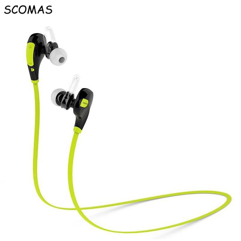 SCOMAS QY7 Deportes Auriculares Bluetooth Inalámbrico Fone De Ouvidio Conductor