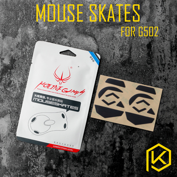 Hotline games 2 sets/pack original competition level mouse feet mouse skates gildes for Logitech G502 0.6mm thickness