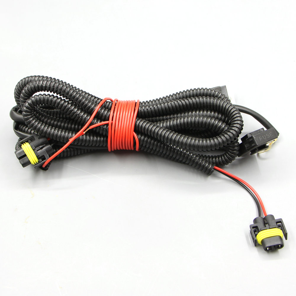 Apply to For <font><b>2011</b></font> Polo original car styling Fog lights Lamp Wires/Harness line image