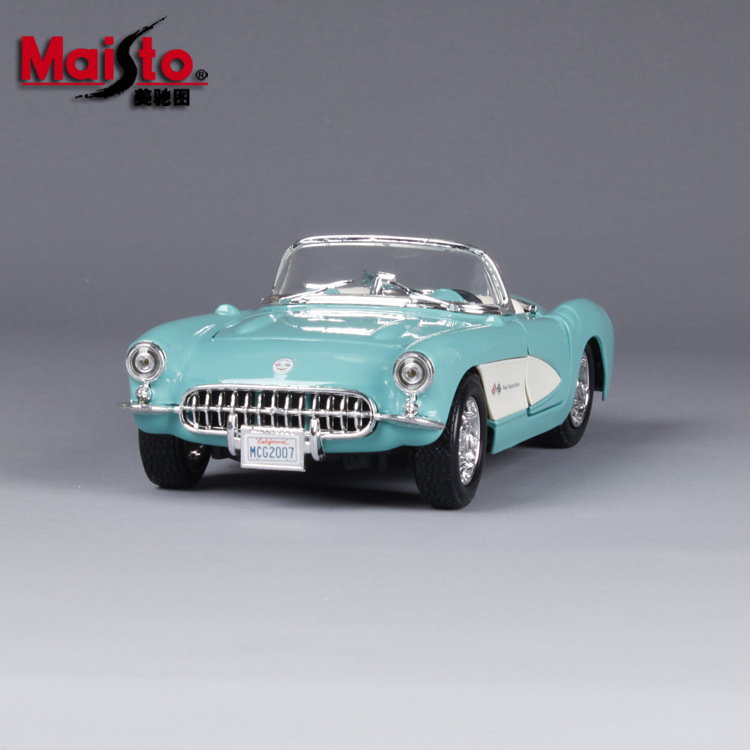 1:24 1957 Chevrolet Classic Car Simulation Alloy Car Model Car Model Pendant Gift cheverolet monza ixo chevrolet car 1 43 model