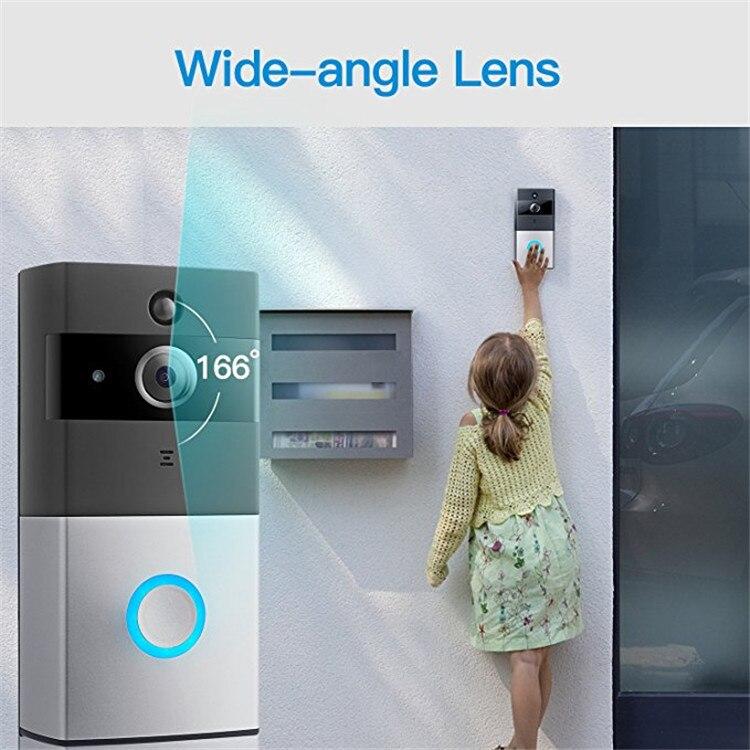 2018 Rushed Sale Security Cctv Hidden 2 Way For Audio Long Range 220v Visual Wireless Doorbell Ip Camera Smart Wifi Video